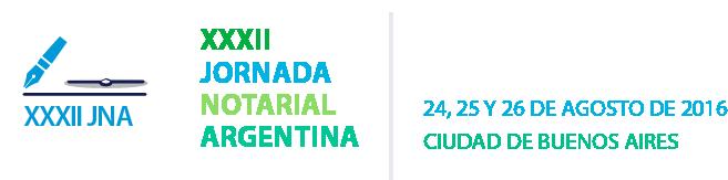 32 Jornada Notarial Argentina - Colegio de Escribanos de la Ciudad de Buenos Aires